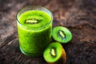 5 Combinações de suco de kiwi