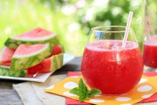 8 Combinações de suco de melancia