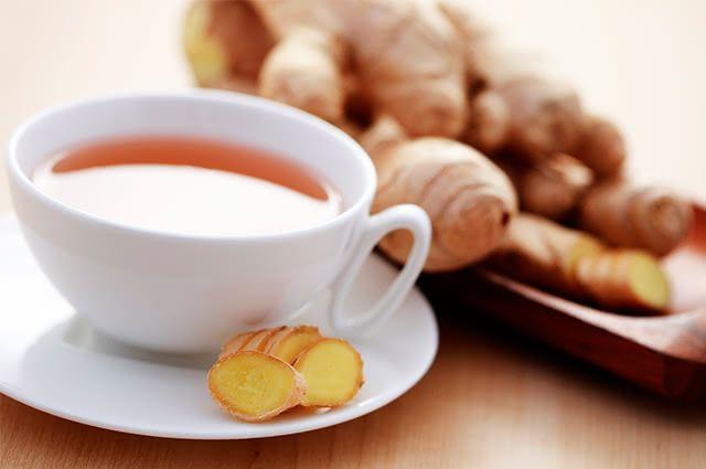 Combine chá de gengibre para secar de vez a sua barriga