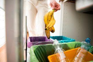 Como eliminar mau cheiro de lixo