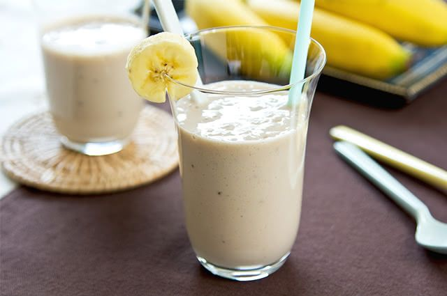 Vitamina de banana combina com quem quer ganhar massa muscular