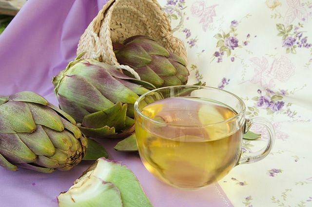 O chá de alcachofra consegue tratar gordura no fígado