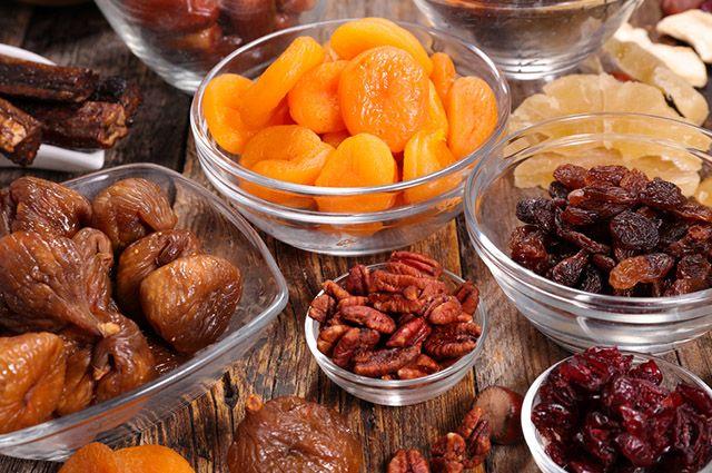 Antes de dormir é indicado comer frutas secas