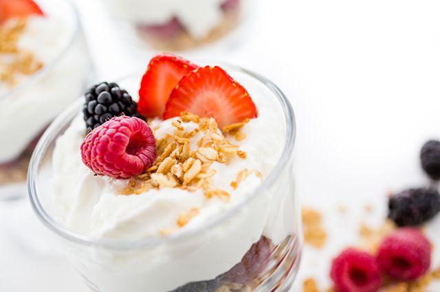 Antes de dormir é indicado comer iogurte com aveia