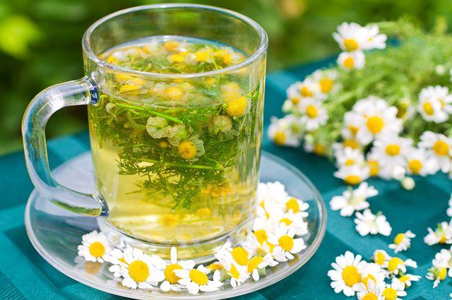 Entre os remédios para sinusite crônica uma opção caseira é o chá de camomila
