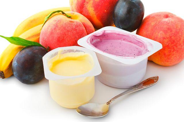 O iogurte é um dos remédios caseiros para tratar disúria