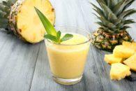 Emagreça com suchá detox de abacaxi