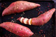 Como plantar batata doce em casa