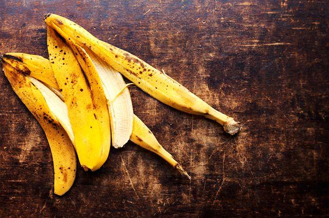 A casca da banana atua como remédio caseiro para queimadura