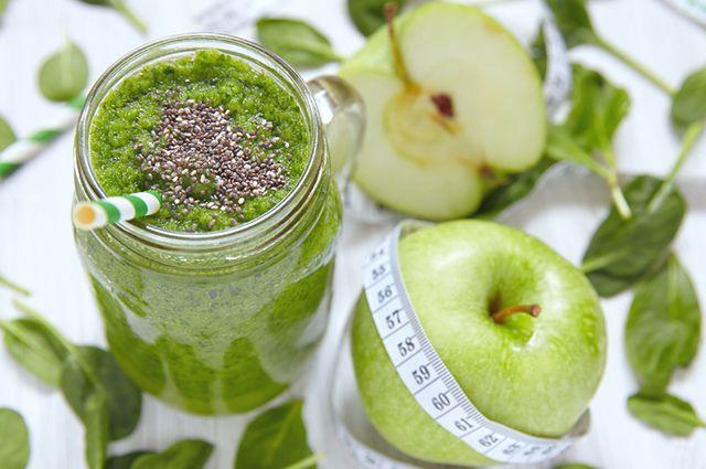 Um exemplo de shake caseiro para emagrecer que funciona é o de maçã e chia
