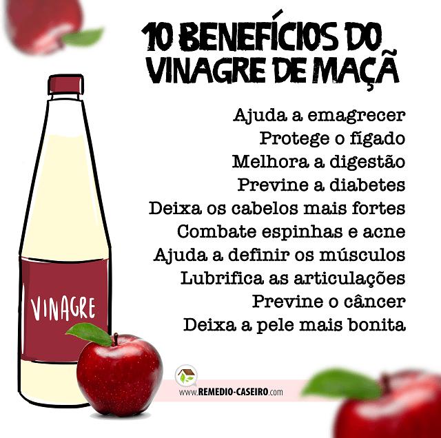 10 Beneficios Do Vinagre De Maca Remedio Caseiro