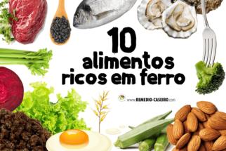 10 alimentos ricos em ferro que vão turbinar sua saúde