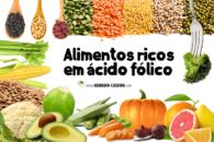 15 alimentos ricos em ácido fólico