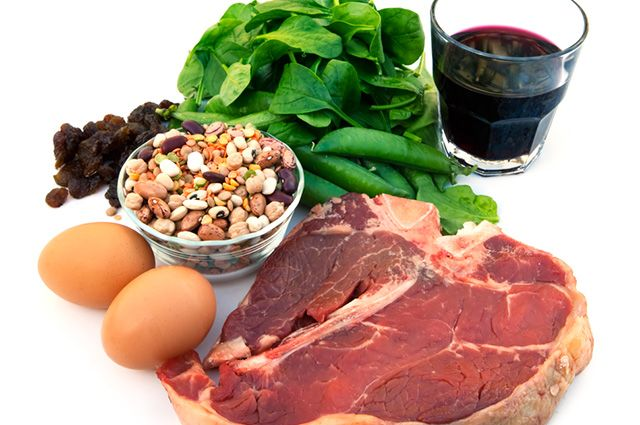 Carne, ovos, grãos e sementes