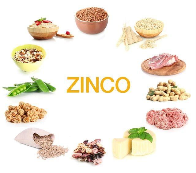 Alimentos com zinco