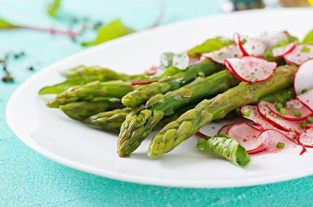Saladas de aspargo