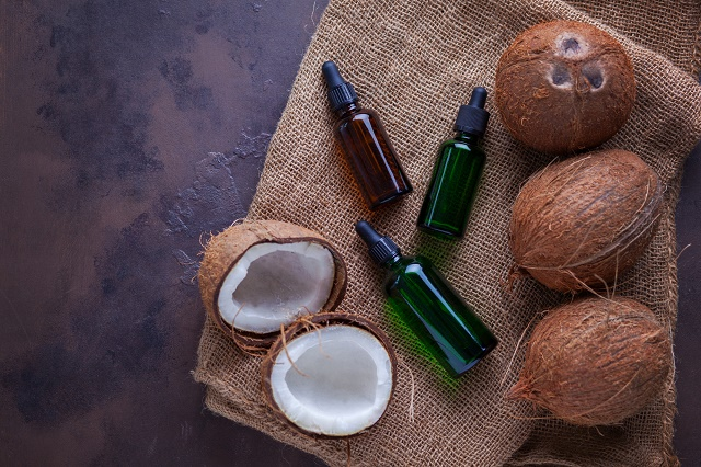 Coco e seu óleo