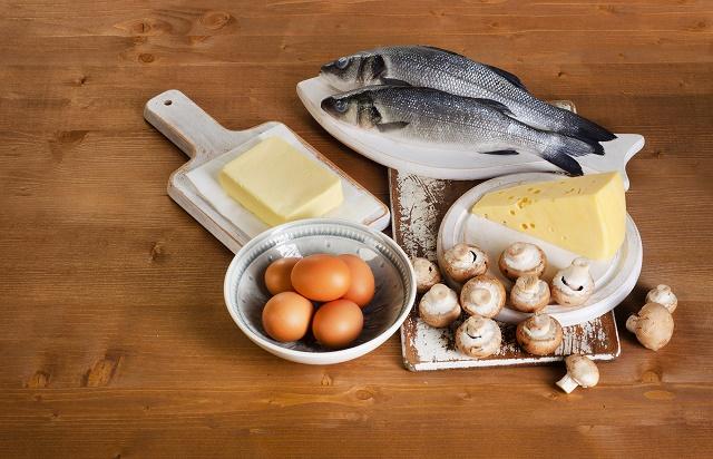 Peixes, queijos, ovos e cogumelos