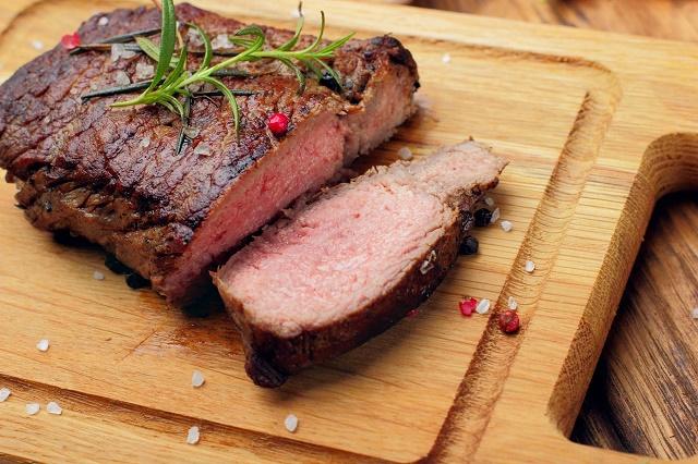 Carne assada com pimenta