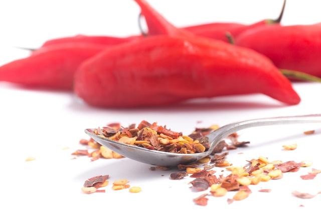Pimenta calabresa e vermelha