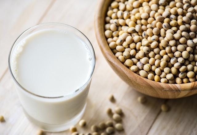 Soja e leite de soja