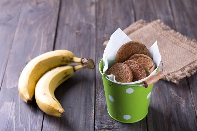 Biscoitos de banana