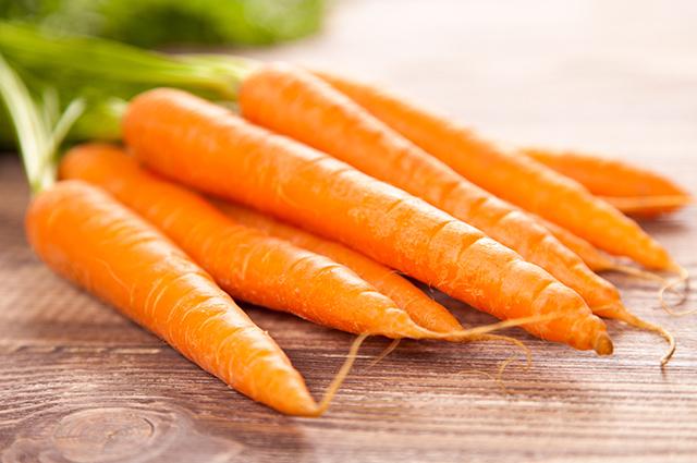 Cenouras cruas