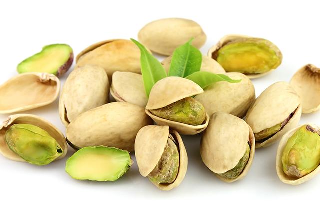 Grãos de pistache