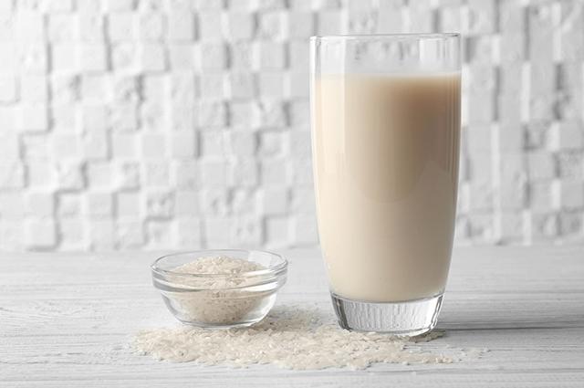 Copo de leite de arroz
